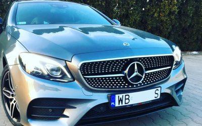 Mercedes Klasy E coupé