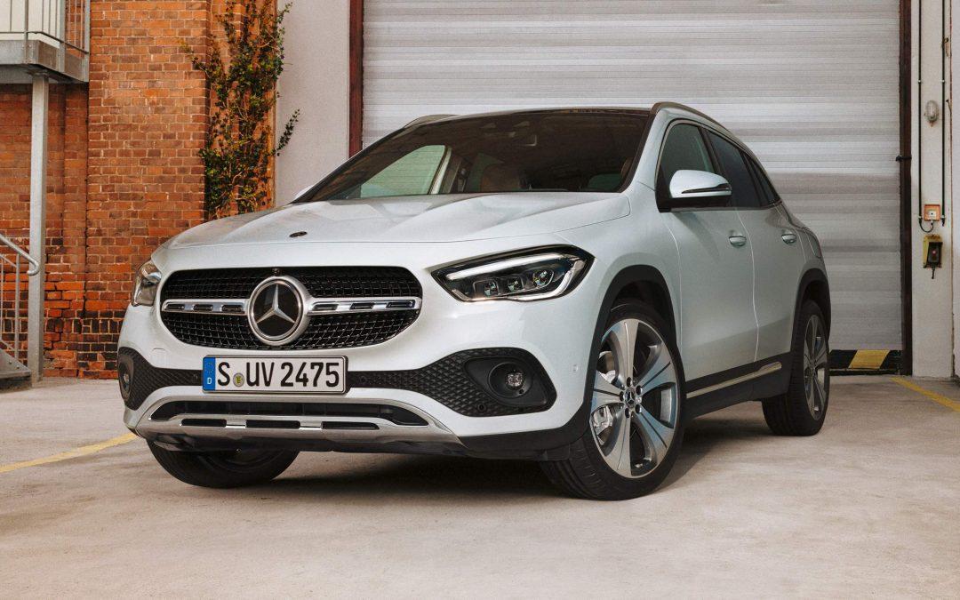 Mercedes GLA – miejski SUV